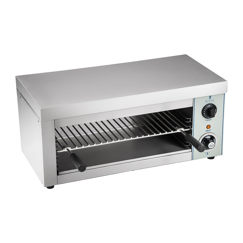 Royal Catering - RCES-2000-EGO - Tostador industrial - 2.000 Watt - 1 resistencia de infrarrojos - Envío Gratuito: Amazon.es: Hogar