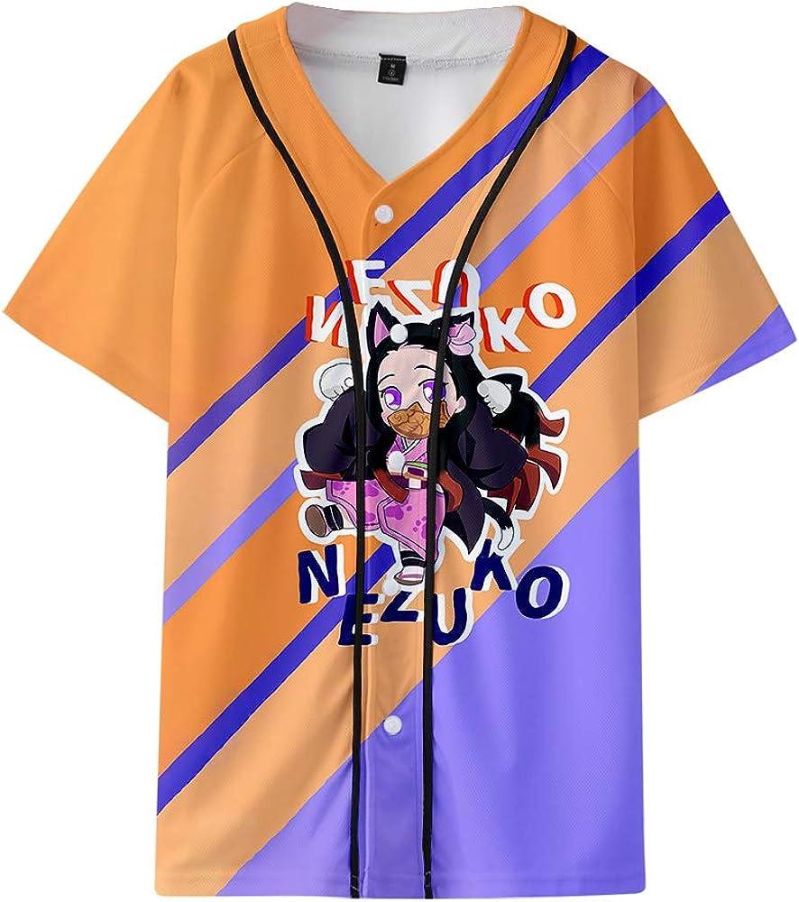 YICHEN Serie de Anime 3D Baseball Jersey Camiseta De Manga ...