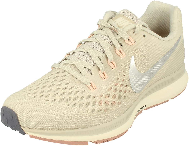 título accidente núcleo  Amazon.com | Nike Womens Air Zoom Pegasus 34 Running Trainers 880560  Sneakers Shoes (UK 3 US 5.5 EU 36, Light Bone Chrome Grey 004) | Road  Running