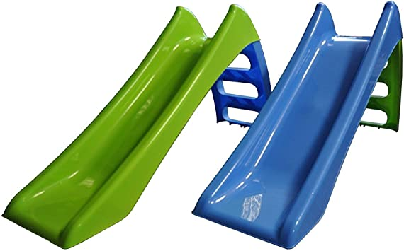 Mandelli Plástico 3 peldaños 116 x 36 x 62,5 con Casquillo de Agua Tobogán 292, Multicolor, 5907442110500