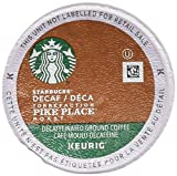 Starbucks Decaf Pike Place Roast, K-Cup Portion Pack for Keurig Brewers, 24-Count