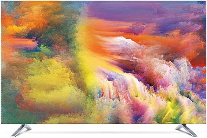 YXZN Cubiertas para el Polvo de la televisión Televisor LCD Cubierta de protección Universal Suave Cómodo Protector Solar a Prueba de Agua,color1,50: Amazon.es: Hogar