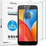 OMOTON Moto E4 Plus Screen Protector [2 Pack] Tempered Glass Screen Protector for Motorola Moto E4 Plus with [9H Hardness] [Anti Scratch] [No-Bubble]