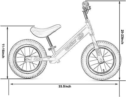 Dsrgwe Bicicleta sin Pedales, Equilibrio de Bicicletas, 12