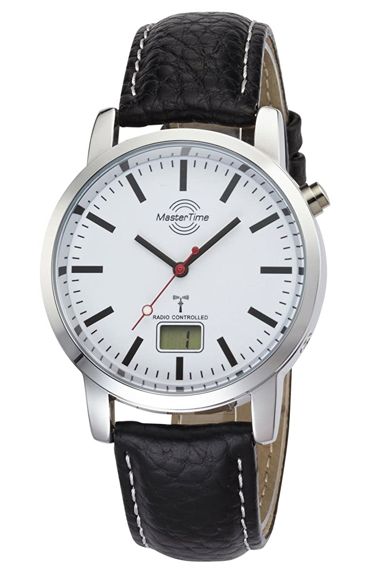 Master Time Radio Basic Series Reloj de Hombre mtga de 10592–20L, Piel Reloj de Pulsera