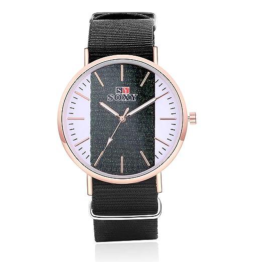 SJXIN Reloj Elegante Reloj de Moda para niña Reloj Pulsera Reloj SOXY Relojes de Moda (Color : 1): Amazon.es: Relojes