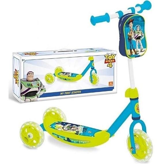 Toy Story - Patinete de 3 Ruedas de plástico: Amazon.es: Hogar