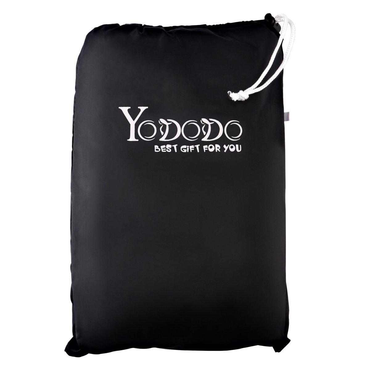 Scooter Yododo Couverture Imperm/éable en Polyester 190T pour Moto Housse de Protection pour Moto Taille: XXL Couleur: Noir