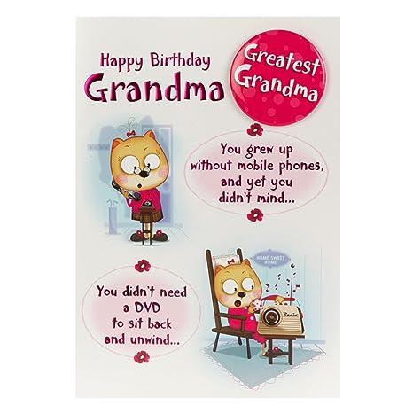Amazon.com: Hallmark – Tarjeta de felicitación de cumpleaños ...