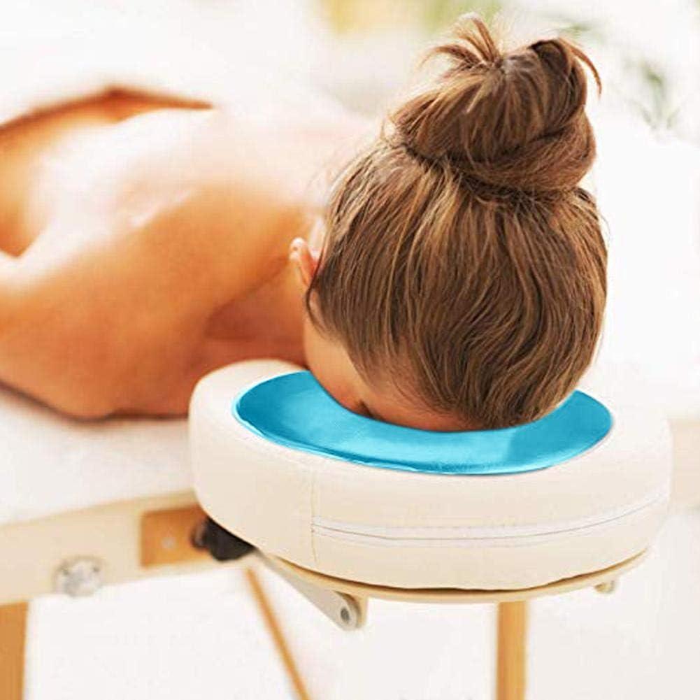 Jeffergarden 4 Colores Silicona Almohada masajeador Belleza Cuidado de la Piel superposici/ón Suave Cara Relajarse Cuna coj/ín Almohadilla Azul