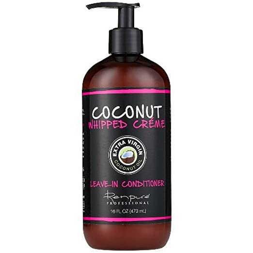 Renpure Coconut Whipped Creme Leave-In Conditioner, 16 oz Best Leave-in Conditioners