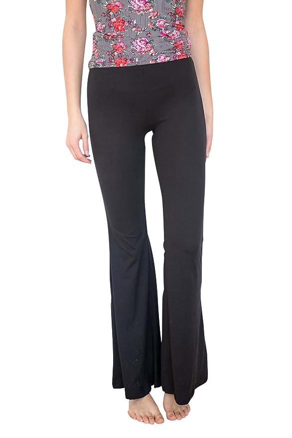 efe5c4de7f4915 Ragstock Women's Stretch Bell Bottoms at Amazon Women's Clothing store: