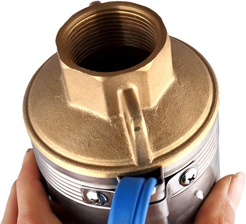 SHYLIYU Pompe pour Puit Profond 0.37kW//0.5HP Submersible Pompe /à Eau 2800L//H Etroite pompe de puits Immersion Electrique Forage Pompe 220V pour Maison Irrigation Agricole Jardin,Diam/ètre 2.5 Pouces