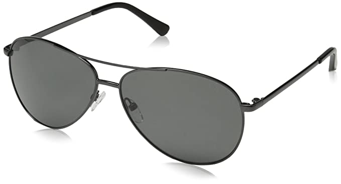 83a4ff2250 Obsidian Sunglasses for Women or Men Polarized Aviator Frame 03, Gunmetal,  61 mm