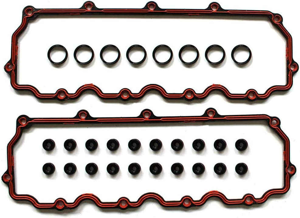 ECCPP Engine Valve Cover Gasket Sets Replacement fit for 2003-2010 Ford 6.0L