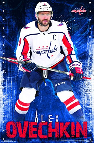 "Trends International Washington Capitals-Alex Ovechkin Wall Poster, 22.375"" x 34"", Multi"