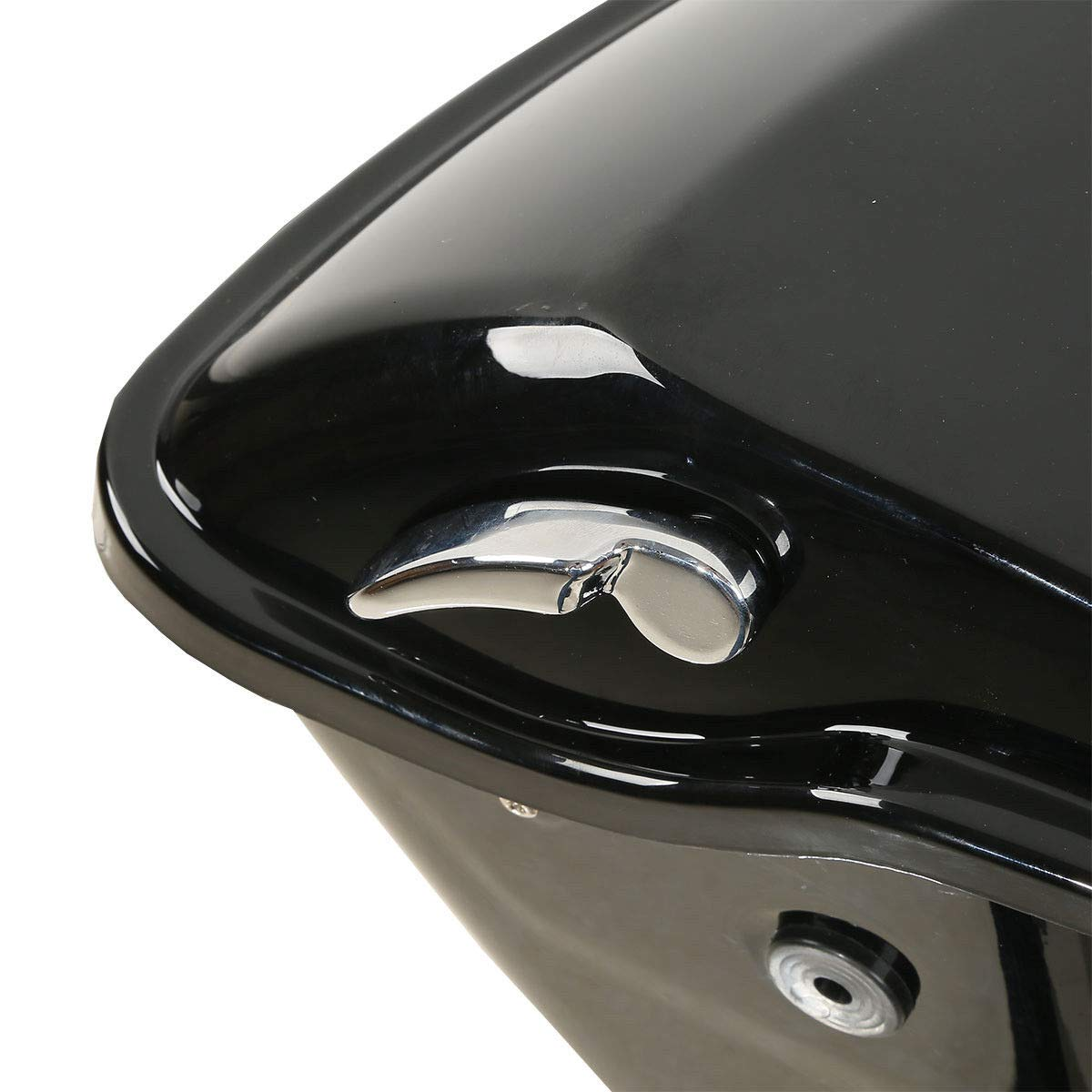 TCMT 5'' Stretched Extended Saddlebags W/Latch Key Fits For Harley Touring 2014-2019 by TCMT (Image #6)