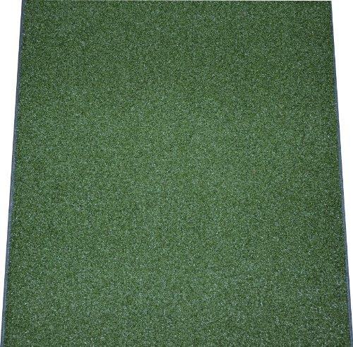 - Dean Premium Heavy Duty Indoor/Outdoor Oasis Green Artificial Grass Performance Turf Carpet Runner Rug/Putting Green/Golf/Sports/Dog Mat, Size: 3' x 6' with Bound Edges