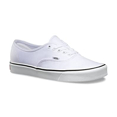 d9960905d3 Vans Authentic Lite True White Unisex Shoes Kids Girls Boys (2.5)