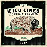 The Wild Lines of Jeremy Collins: 2020 Wall Calendar