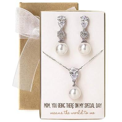 Amazon Amy O Wedding Gift Mother Of The Bridegroom Pearl
