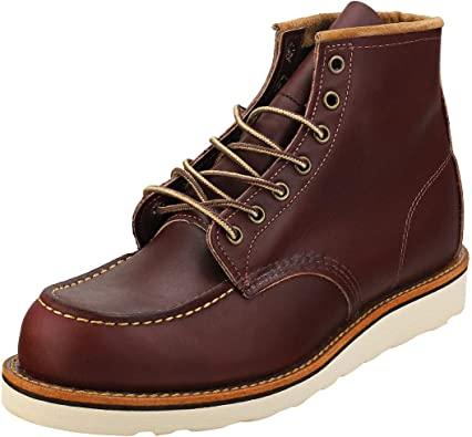 Red Wing Heritage 8856 6-Inch Classic Moc Oxblood Men/'s Boots 08856