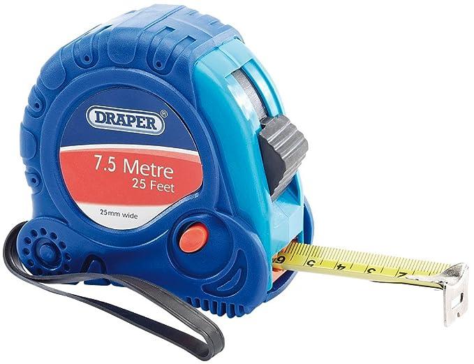 2 opinioni per Draper 75300- Metro flessibile, 7,5 metri x 25 mm