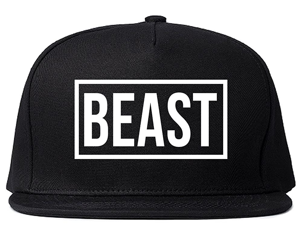 b96dbdceadefb Beast Snapback Hat Cap Black at Amazon Men s Clothing store