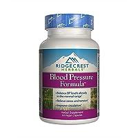 Ridgecrest Herbals Blood Pressure Formula, 60 Vegan Capsules