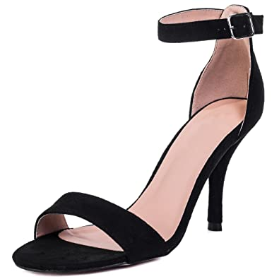 132876750a3a Spylovebuy Sophie Women s Wide Fit High Heel Stiletto Strappy Sandals Shoes   Amazon.co.uk  Shoes   Bags