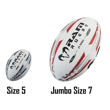 Ram Pelota de Rugby Juego de Rugby Pelota de Rugby - tamaño 7 - 61 ...