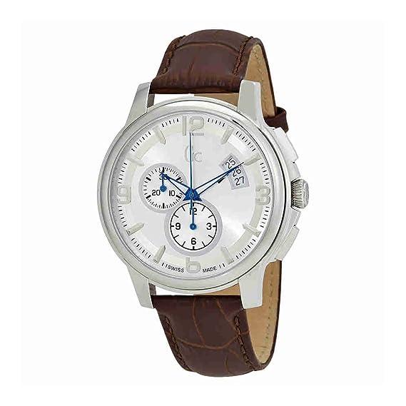 Guess X83005G1S - Reloj, Correa de Cuero Color marrón