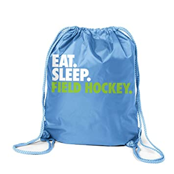 62d8fd988cfa Amazon.com | Field Hockey Sport Pack Cinch Sack | Eat Sleep Field ...