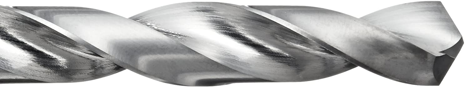 5//64 Diameter x 1-3//4 Length Uncoated Finish 118 Degree Pack of 1 Straight Shank #47 Size Slow Spiral YG-1 D5412 Carbide Twist Jobber Drill Bit