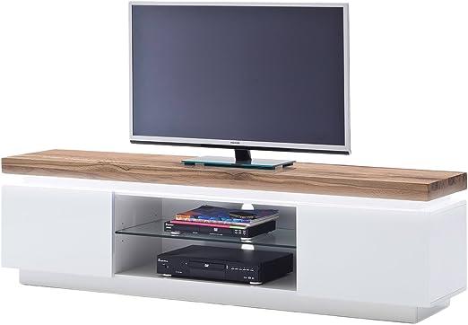 Mueble bajo para televisor cómoda de registro de estante de mueble ...