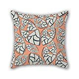 PILLO pillowcover of Colorful geometry,for indoor,monther,wife,lover,festival,dining room 16 x 16 inches / 40 by 40 cm(double sides)