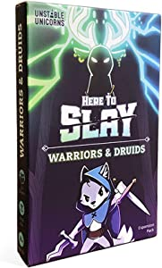 TeeTurtle Here to Slay Warriors & Druids Expansion Pack - Designed to be Added to Your Here to Slay Base Game