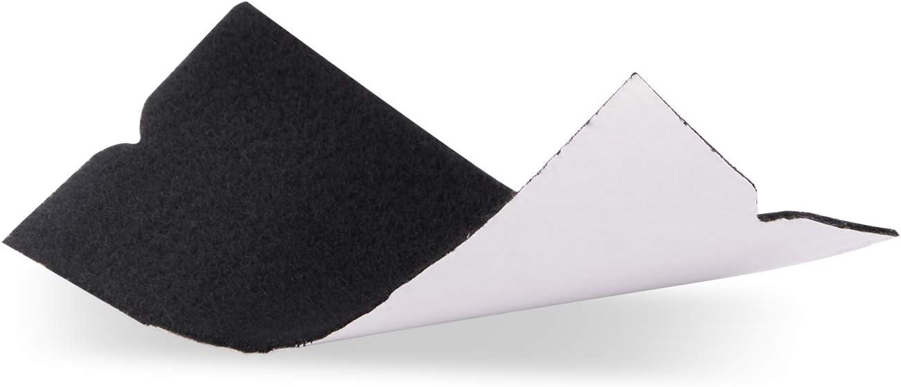 non incluso seccatoio Pack Ehdis/® 10x4.8cm Scratch bordo Lavavetri accessori Fabric sentiva libero morbido asciutto bagnato del feltro a Car Wrapping ruspa 3M racla 50PCS