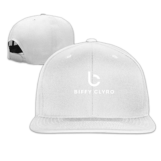38fb2b3079b Flat-along Adjustable Graphic Biffy Clyro British Rock Band Snapback Hat  Cap Black