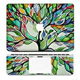 iCasso Protective Full-cover Vinyl Art Skin Decal Sticker Cover for Apple MacBook Pro 13.3 inch Model: A1278 - Tree of Life