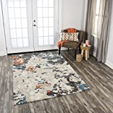 Rizzy Home VOGVOG10400040810 Vogue Hand-Tufted Area Rug, 8' x 10', Beige