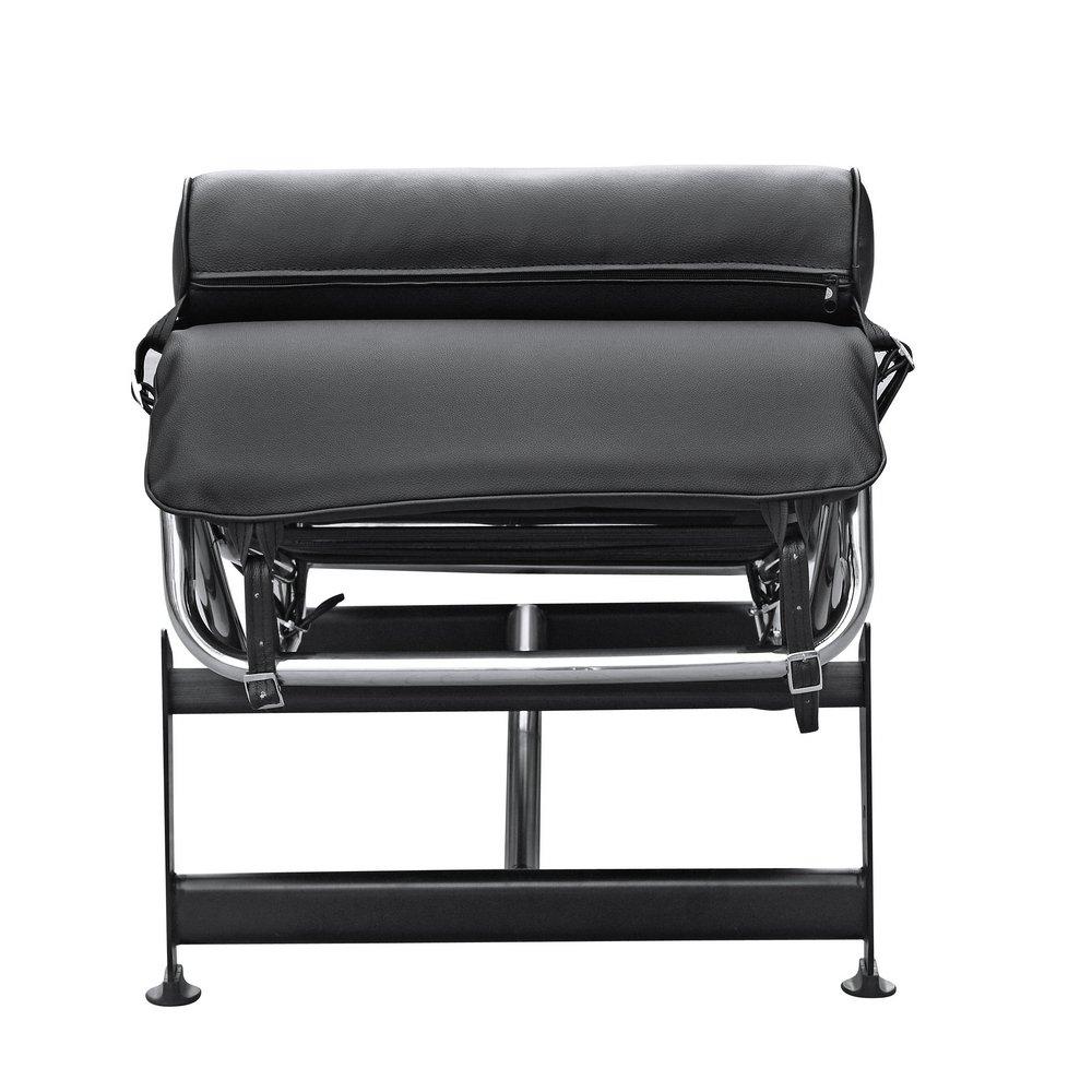 Amazon.com: Fine Mod LC4 Black Chaise Lounge Chair: Kitchen & Dining