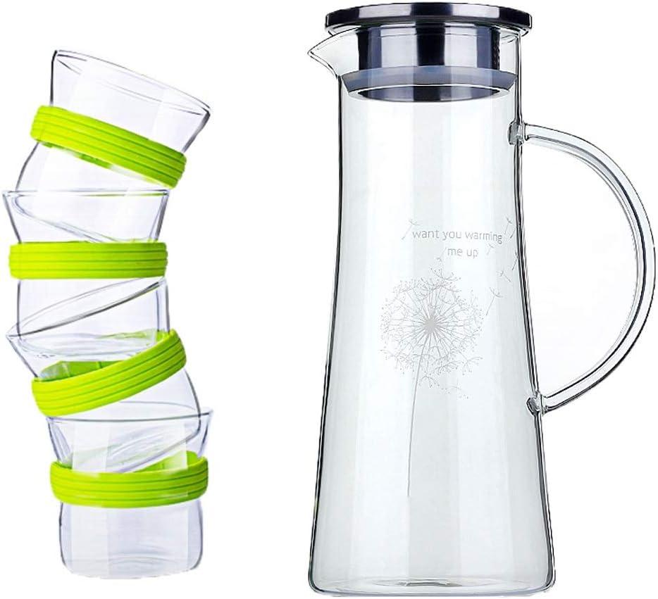 Botella de agua fría, Caldera de Vidrio Resistente al Calor ...