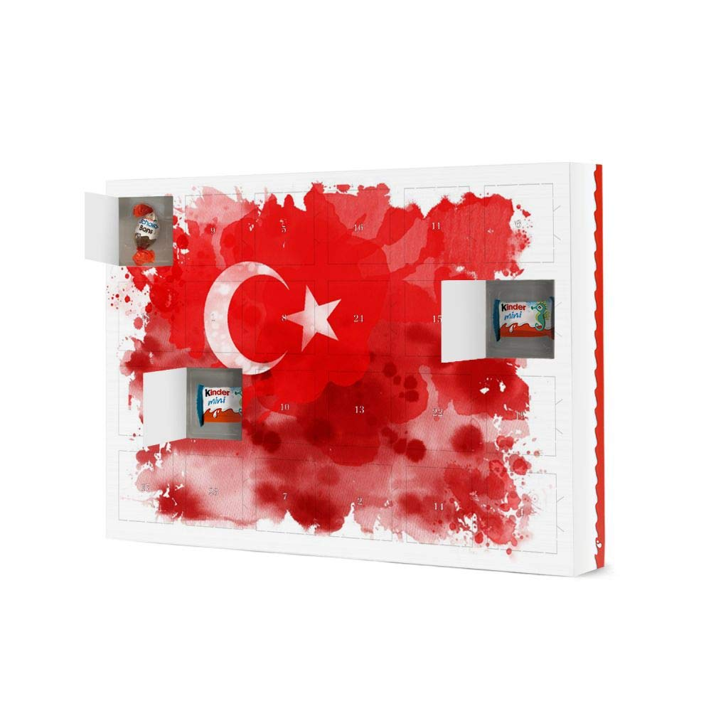 Sport Weihnachtskalender.Advent Calendar Turkey Flag Reise Reise Countries Sport Sports