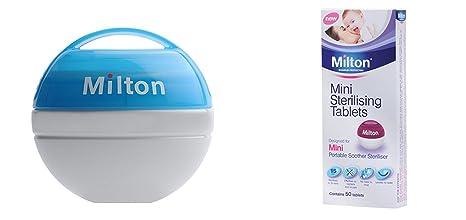 Milton Mini beruhigung Esterilizador (Azul) (Esterilizador + ...
