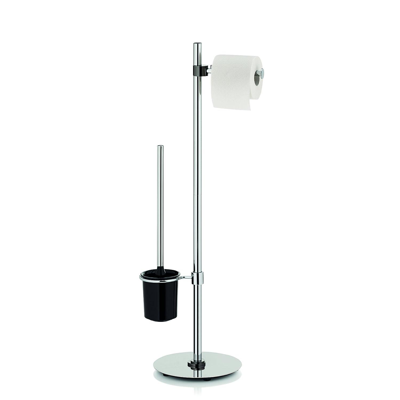 Kela 20160 Silvan Set WC Métal Argent 22 x 22 x 81 -5 cm