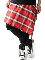 (ベストマート)BestMart ラグジュアリー 日本製 国産 巻きスカート メンズ スカート ペイズリー バンダナ チェック 無地 619314