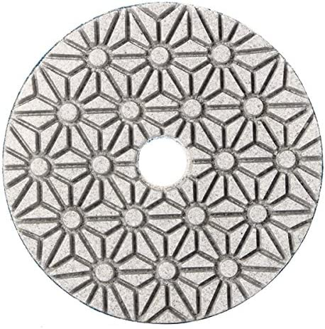 CHIMAKA 3 St/ücke 4 Zoll Diamant Polierscheibe Trocken Flexible Schleifwerkzeug f/ür Marmor Granit Stein Beton Neues DIY Zubeh/ör