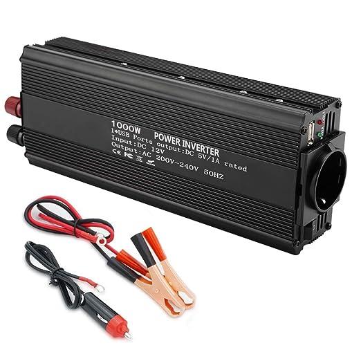 Inversor de onda modificada de 12 V convertidor 220 V 1000 W de ...