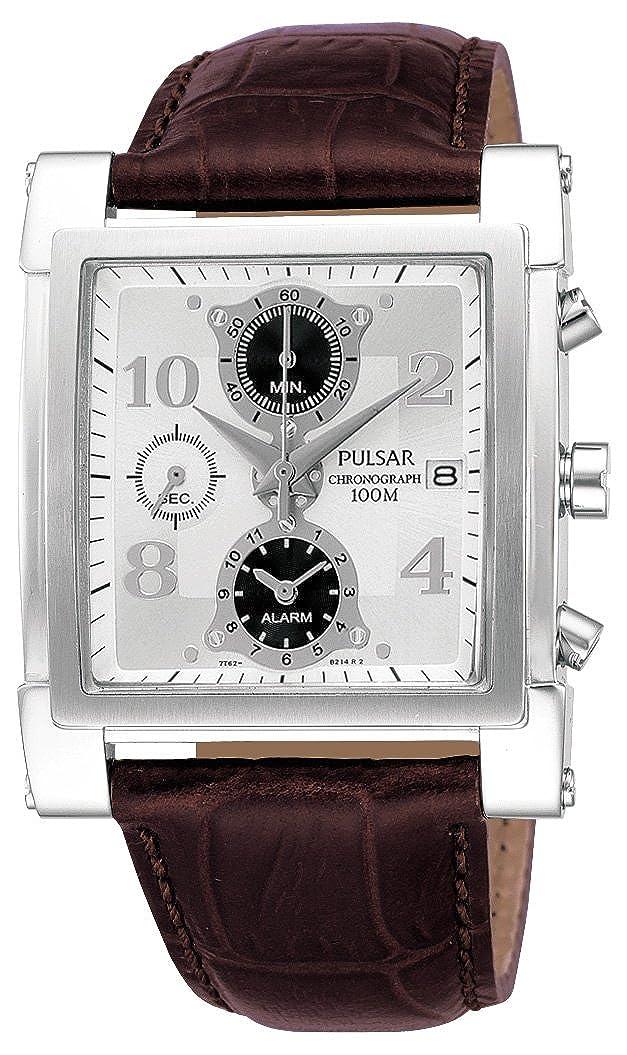 Pulsar Gents Black Chronograph Watch Pf3377x1 Amazon Watches